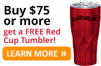 Buy any Bubba Rope recovery gear that totals $75 or more and get a FREE insulated stainless steel Red Cup Tumbler! Click for details.