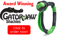 New! Gator-Jaw™ Soft Shackles!