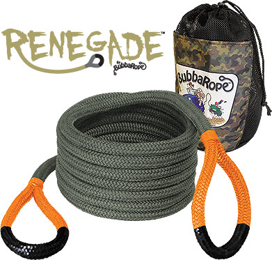 Ideal for Jeeps, Light Trucks & Side-by-Sides - Renegade Recovery Rope